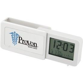 Custom Dot Matrix Multi Function Travel Alarm Clock