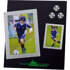 Dual Magnetic Frame with Stand Branded with Your Logo