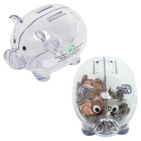Personalized Dual Savings Piggy Bank