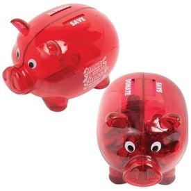 Customized Dual Savings Piggy Bank