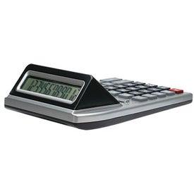 Dual Screen Desktop Calculator with Your Slogan