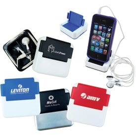 Promotional Ear Bud Media Stand