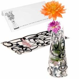 Imprinted Eco Flexi-Vase
