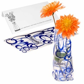 Eco Flexi-Vase with Your Logo