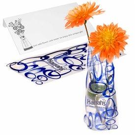 Eco Flexi-Vase with Your Logo