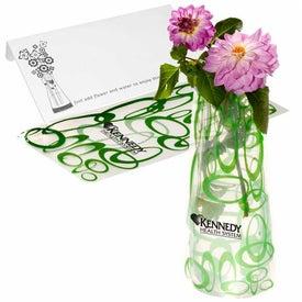 Eco Flexi-Vase with Your Slogan