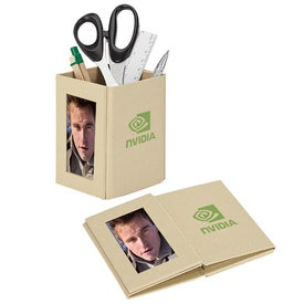 Eco Pencil Cup with Photo Frame