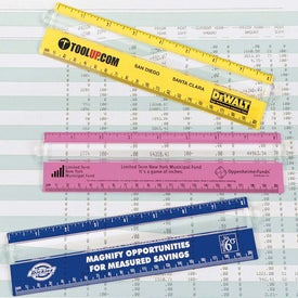 "Custom 8"" Measureview Ruler"