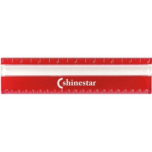 Red / Clear Measureview Ruler