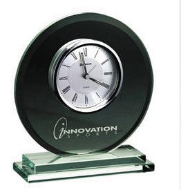 Ellipse Clock Branded with Your Logo