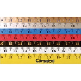"Enamel Finish Yardstick (36"")"