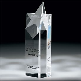 Escuro Ill Star Award Branded with Your Logo