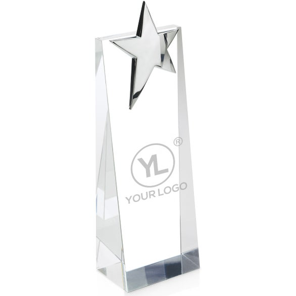 Clear Estrela Silver Star Tower Award