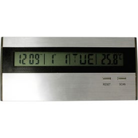 Advertising Executive Desk Top Alarm Clock Radio