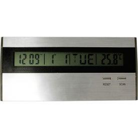 Advertising Executive Desk Top Alarm Clock Radio