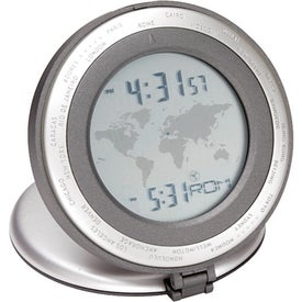 Customized Executive World Time Alarm Clock