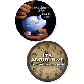 Fabric Surface Circle Coasters with Your Slogan