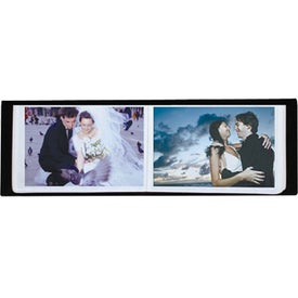 Silver Photo Album With Felt Lining Branded with Your Logo