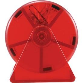Printed Ferris Wheel Clip Dispenser