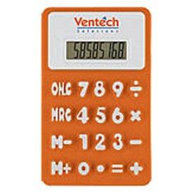 Logo Flexible 'Press-Me' Colorful Calculator