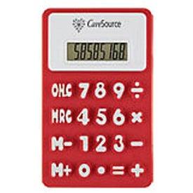 Custom Flexible 'Press-Me' Colorful Calculator
