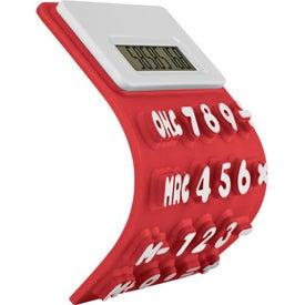 Advertising Flexible 'Press-Me' Colorful Calculator