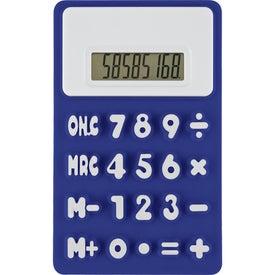 Branded Flexible 'Press-Me' Colorful Calculator