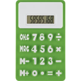 Flexible 'Press-Me' Colorful Calculator with Your Logo
