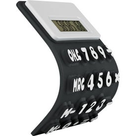 Flexible 'Press-Me' Colorful Calculator for Promotion