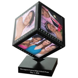 Filmstrip Photo Cube for Promotion