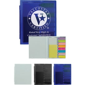 Deluxe Flag and Sticky Note Set with Your Logo