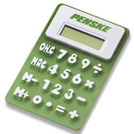 Flexi Calculator Branded with Your Logo