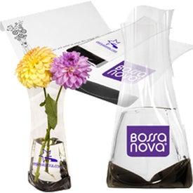 Imprinted Flexi-Vase Combo