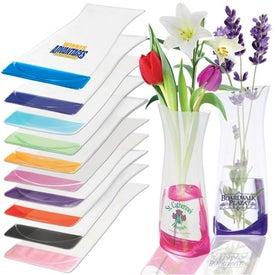 Advertising Flexi-Vase