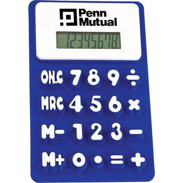 Blue Flexible Calculators