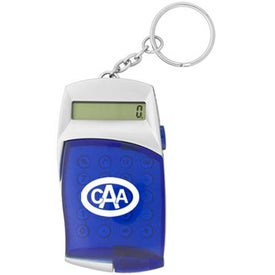 Flip Cover Calculator Keychain for Marketing