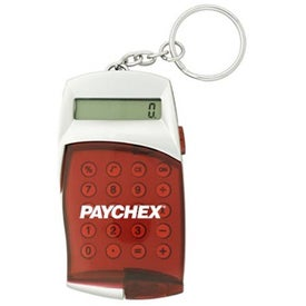 Personalized Flip Cover Calculator Keychain