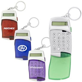 Flip Cover Calculator Keychain