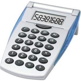Flip-n-Fold Calculator Printed with Your Logo