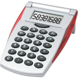 Flip-n-Fold Calculator Branded with Your Logo