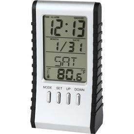 Logo Flip-N-Fall Alarm Clock/Calculator