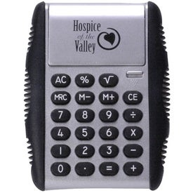 Flipper Calculator Imprinted with Your Logo
