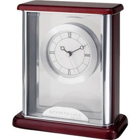 Floating Clock for Advertising
