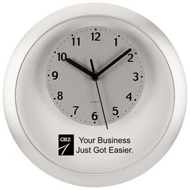 Floating Face Wall Clock Branded with Your Logo