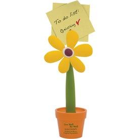 Flower Note Holder