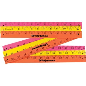 Fluorescent Finish Folding Yardstick for Your Organization