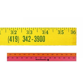 "Fluorescent Finish Yardsticks (36"")"