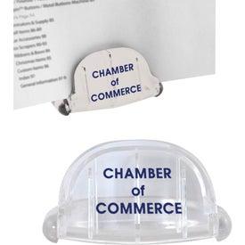 Logo Folding Paper Stand
