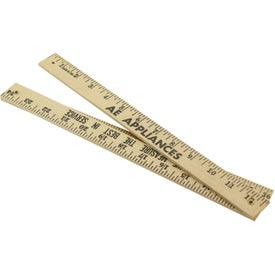 Folding Yardsticks - Natural