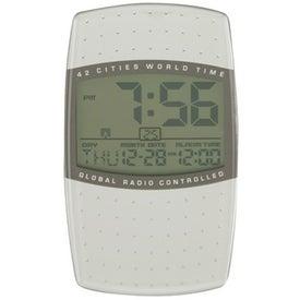 Promotional Global Fonte Clock